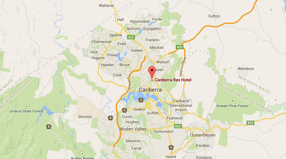 canberra-rex-location