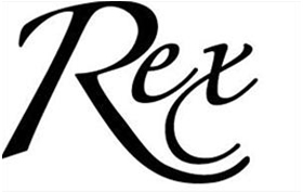 Rex Hotel Logo Black
